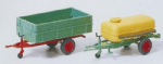 Preiser 17917 : HO Scale Trailer with Platform